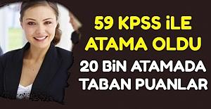 20 Bin Sözleşmeli Öğretmen Atamasında...