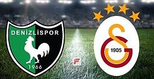 Denizlispor Galatasaray maçı hangi kanalda saat kaçta canlı izle
