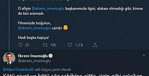 Ekrem İmamoğlu Twitter#039;dan isyan...