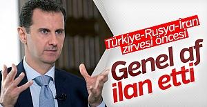 Suriye'de Genel Af