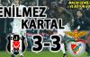 Beşiktaş 3-3 Benfica (MAÇ SONUCU) Maçın Geniş Özeti ve Bütün Golleri
