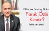 Bilim ve Sanayi Bakanı Faruk Özlü Kimdir?