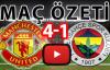 Manchester United 4-1 Fenerbahçe Maç Özeti ve Golleri İzle 20 Ekim 2016