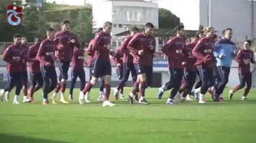 Trabzonspor Ankaragücü maçı hazırlıklarını sürdürdü