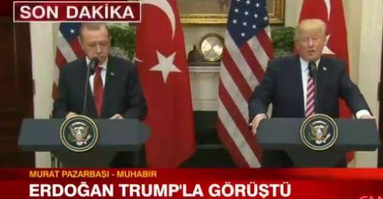 Trump ve Erdoğan Görüştü Son dakika