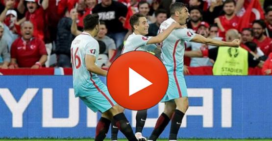Türkiye – Çek Cumhuriyeti Maçı Geniş Özeti (Video)