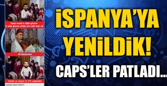 Türkiye İspanya Maçı Capsleri