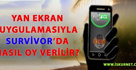 Yan Ekran Uygulamasıyla Survivor'da Nasıl Oy Verilir? TV 8 Yan Ekran Uygulaması Nasıl İndirilir?